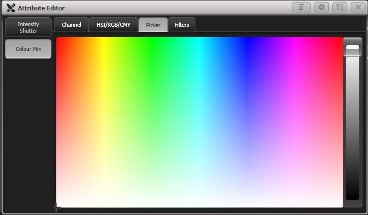 Attribute Editor - Colour Picker
