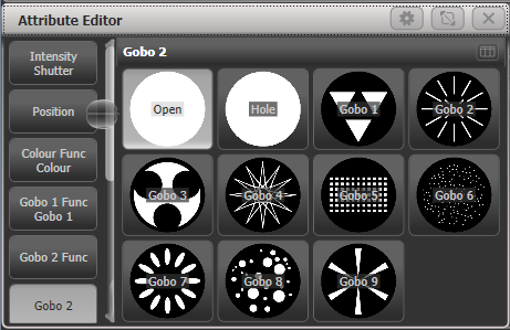 Gobo Selection