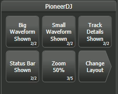 Pioneer context menu buttons