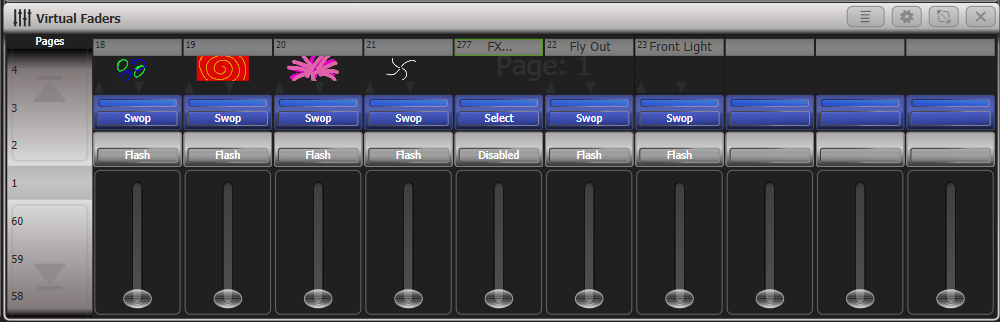 Playback controls · Avolites Titan Manual